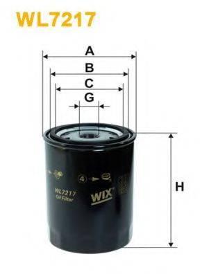 WIX FILTERS WL7217 Фильтр масляный ДВС