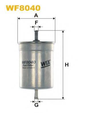 WIX FILTERS WF8040 Топливный фильтр