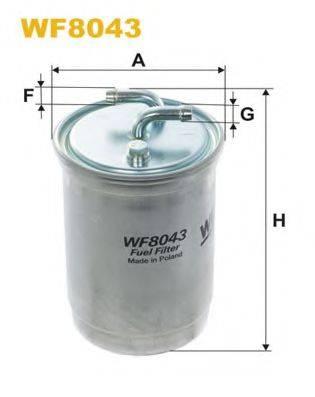 WIX FILTERS WF8043 Топливный фильтр