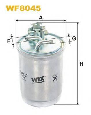 WIX FILTERS WF8045 Топливный фильтр