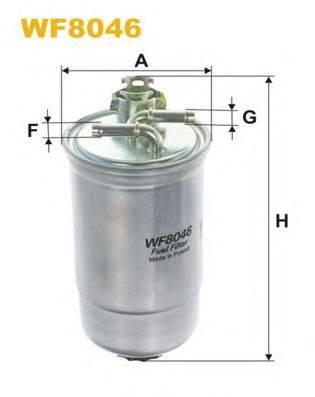 WIX FILTERS WF8046 Топливный фильтр