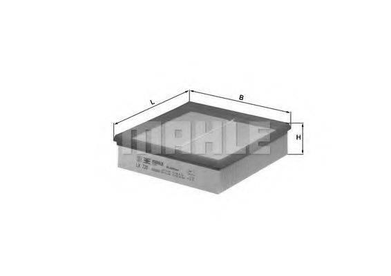 KNECHT LX220 Воздушный фильтр