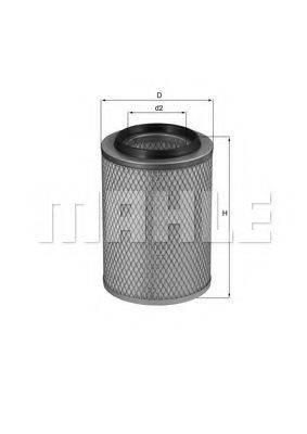 KNECHT LX99 Воздушный фильтр