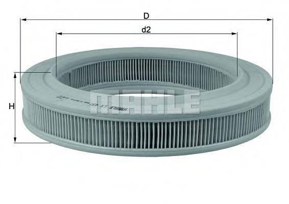 KNECHT LX431 Воздушный фильтр
