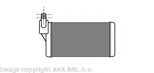 PRASCO VW6097 Радиатор печки