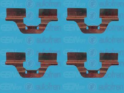 AUTOFREN SEINSA D42342A Комплектующие, колодки дискового тормоза