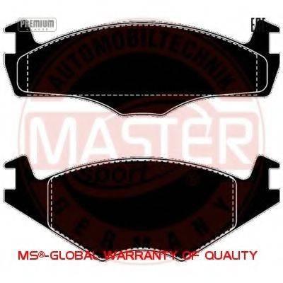 MASTER-SPORT 13046070332NSETMS Тормозные колодки