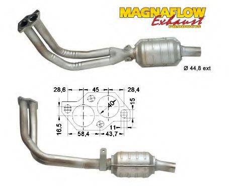 MAGNAFLOW 88819 Конвертор- катализатор