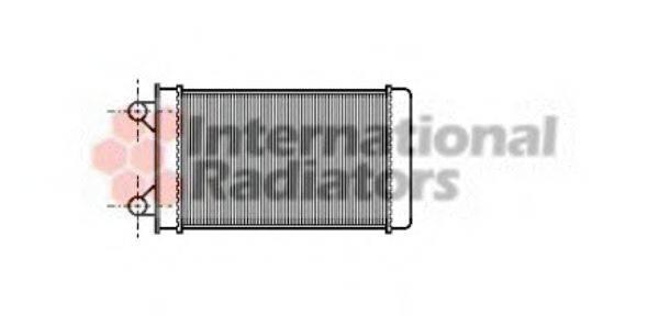 VAN WEZEL 58006117 Радиатор печки