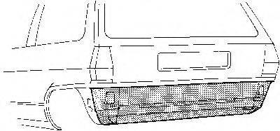VAN WEZEL 5820136 Задняя стенка
