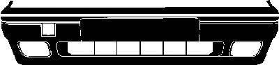VAN WEZEL 5823572 Бампер