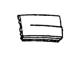 VAN WEZEL 5874652 Панель передняя
