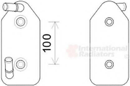 VAN WEZEL 03003356 Масляный радиатор, автоматическая коробка передач