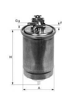 UNIFLUX FILTERS XN202 Топливный фильтр