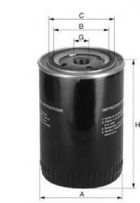 UNIFLUX FILTERS XO169 Фильтр масляный ДВС