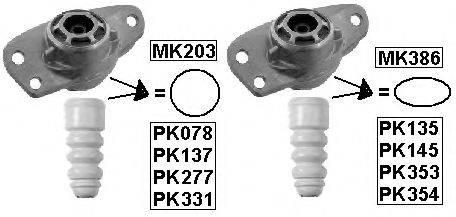 MONROE PK078 Комплект пыльника и отбойника амортизатора