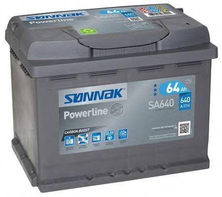 SONNAK SA640 Аккумулятор автомобильный (АКБ)