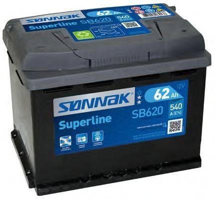 SONNAK SB620 Аккумулятор автомобильный (АКБ)