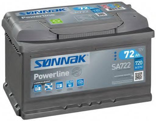 SONNAK SA722 Аккумулятор автомобильный (АКБ)
