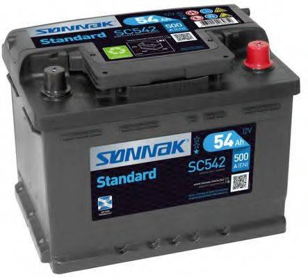 SONNAK SC542 Аккумулятор автомобильный (АКБ)