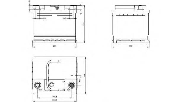 OPEN PARTS BT045L1B00 Аккумулятор автомобильный (АКБ)