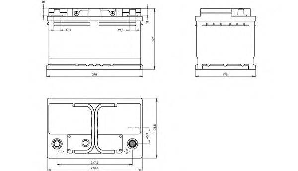 OPEN PARTS BT073L3B00 Аккумулятор автомобильный (АКБ)