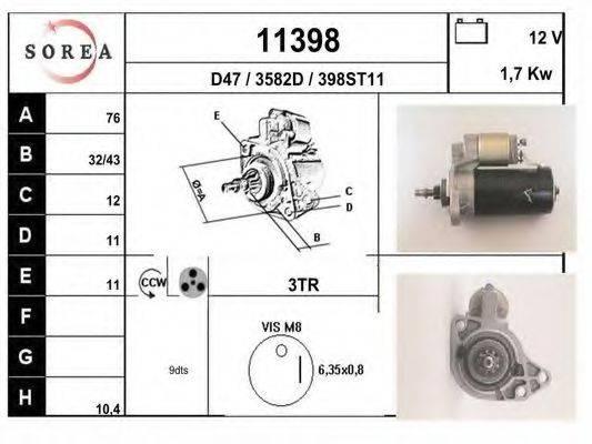 EAI 11398 Стартер