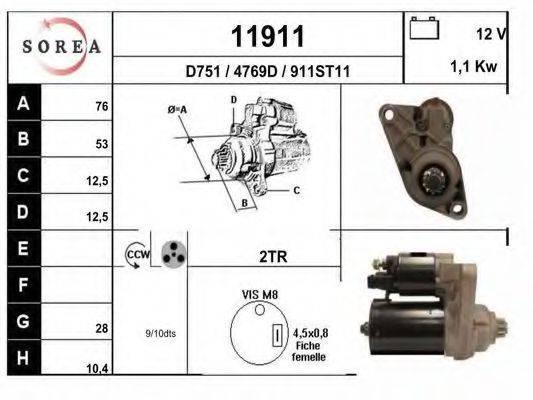 EAI 11911 Стартер