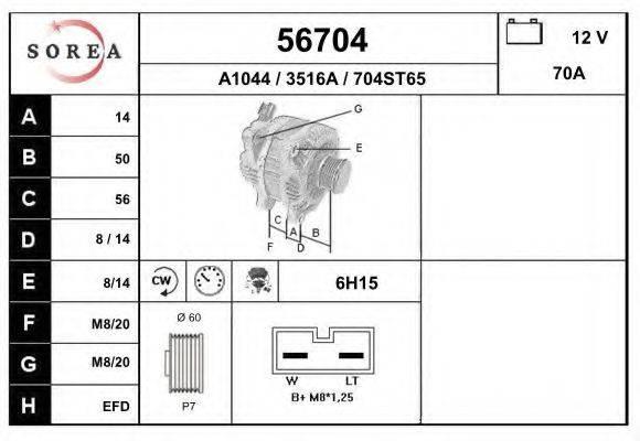 EAI 56704 Генератор