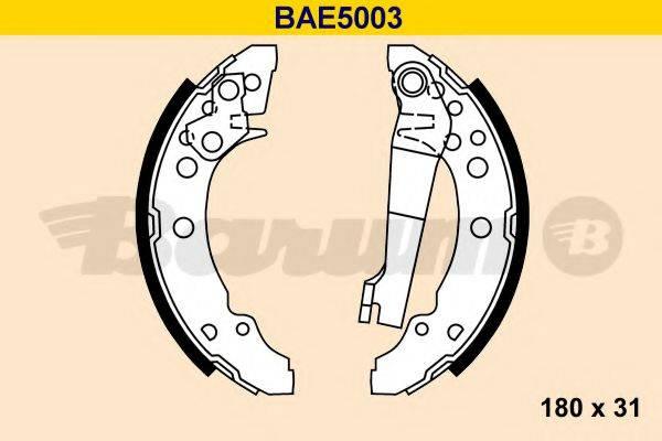 BARUM BAE5003 Тормозные колодки барабанные