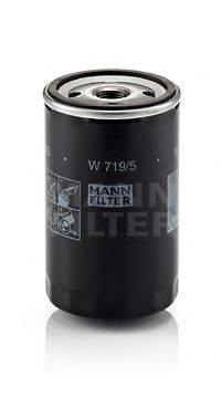 MANN-FILTER W7195 Фильтр масляный ДВС