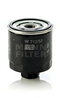 MANN-FILTER W71252 Фильтр масляный ДВС