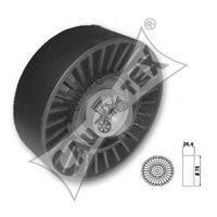 CAUTEX 460959 Натяжной ролик, поликлиновой  ремень