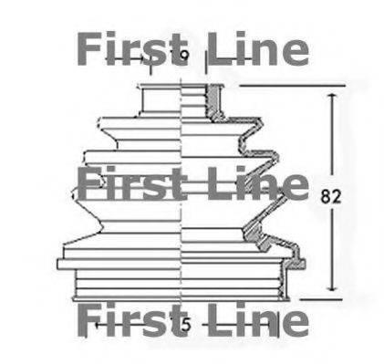FIRST LINE FCB2260 Пыльник ШРУСа
