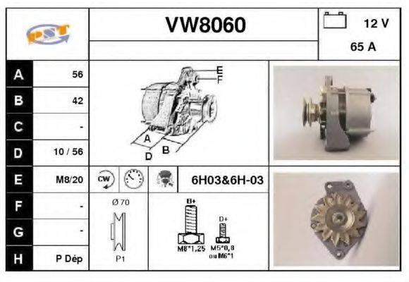 SNRA VW8060 Генератор