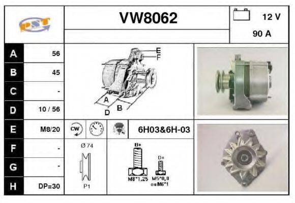 SNRA VW8062 Генератор