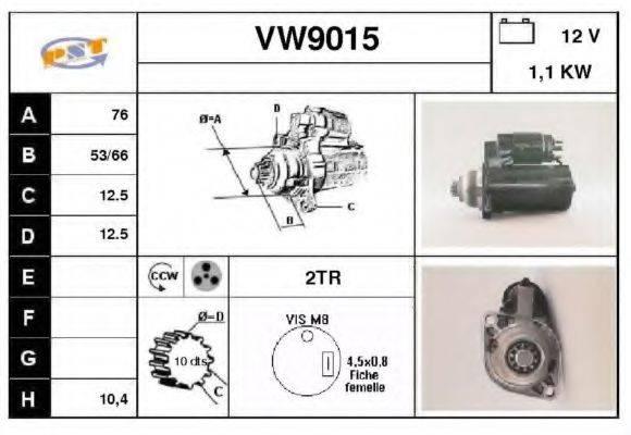 SNRA VW9015 Стартер