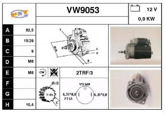 SNRA VW9053 Стартер