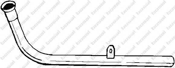 BOSAL 776881 Труба выхлопного газа