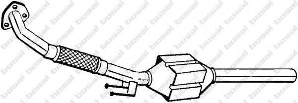 BOSAL 098972 Конвертор- катализатор
