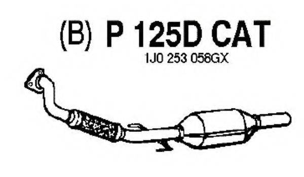 FENNO P125DCAT Конвертор- катализатор