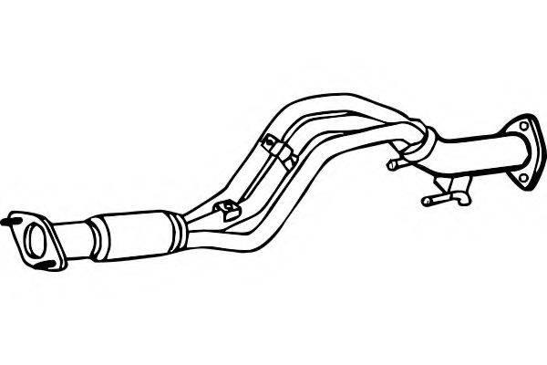 FENNO P7548 Труба выхлопного газа