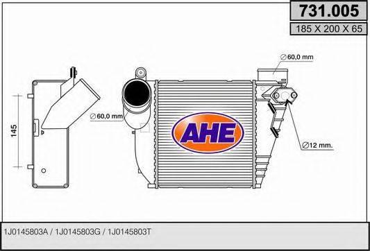 AHE 731005 Интеркулер