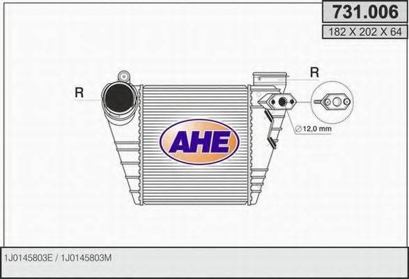 AHE 731006 Интеркулер