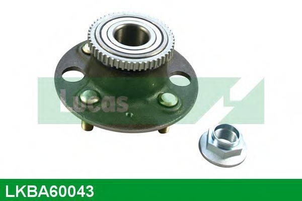 LUCAS ENGINE DRIVE LKBA60043 Подшипник ступицы