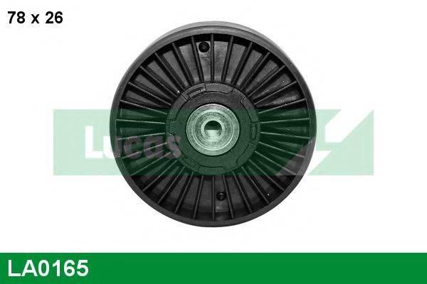 LUCAS ENGINE DRIVE LA0165 Натяжной ролик, поликлиновой  ремень