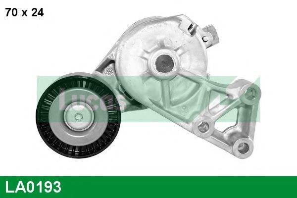 LUCAS ENGINE DRIVE LA0193 Натяжной ролик, поликлиновой  ремень