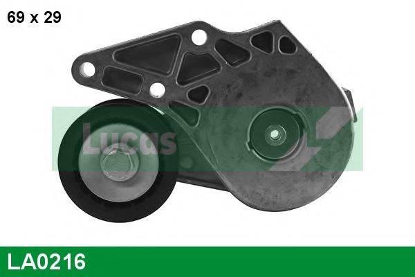 LUCAS ENGINE DRIVE LA0216 Натяжной ролик, поликлиновой  ремень
