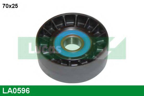 LUCAS ENGINE DRIVE LA0596 Обводной ролик