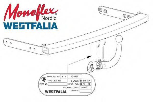 MONOFLEX 305222 Прицепное оборудование